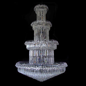 big crystal pendant lamp