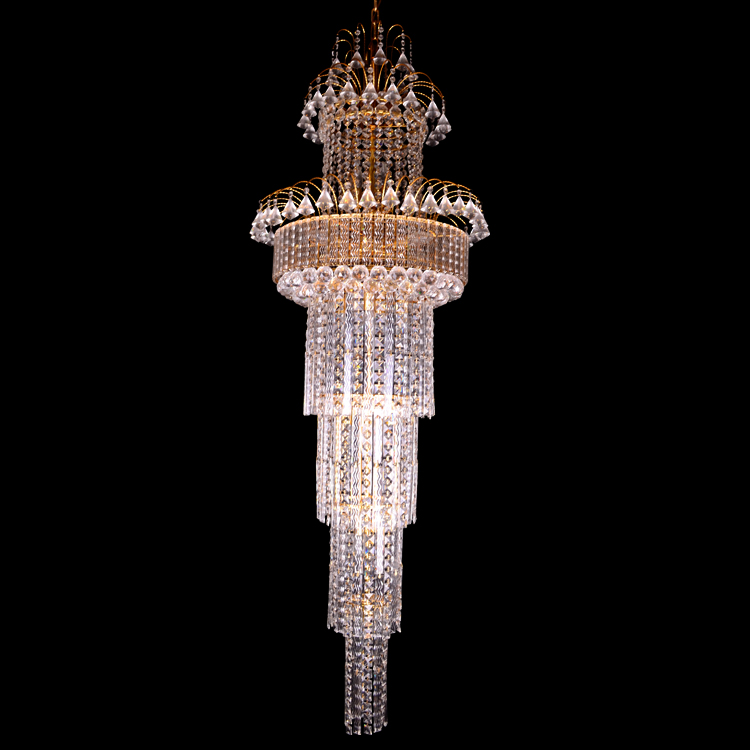 Big Size Crystal Pendant Lamp for Hotel