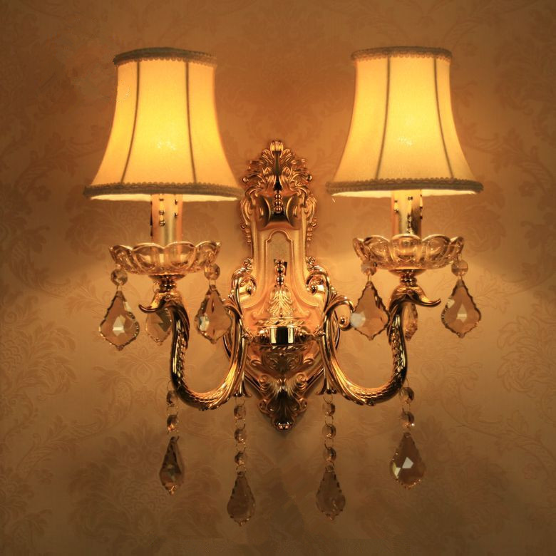 Hight quality crystal wall lamp MB-6008-2