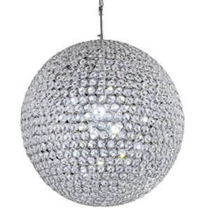 Round ball crystal pendant lamp DP801-140685