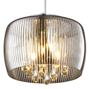 Oval glass pendant lamp DP803-140617