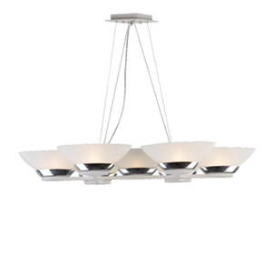 Newest glass chandelier DP807-12811