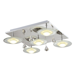 Ceiling lamp with square plate DC315-LD13535
