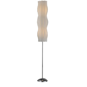 Floor lamp with PP shade DF502-1310046