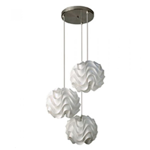 Three PP shade pendant DP803-42911