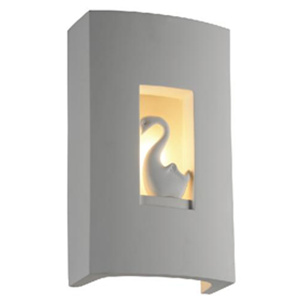 gesso wall lamp with goose pattern DW601-1310121