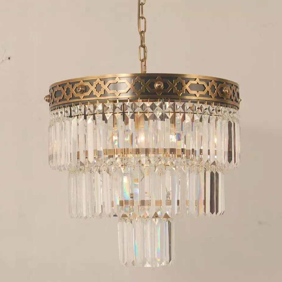 New Arrival  Pendant lamp iron craft pendant light antique brass